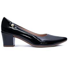 Imagem de Sapato Feminino Scarpin Verniz Salto Baixo AF2.01 F Cor:;Tamanho:36;Genero:Feminino