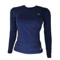 Imagem de Camisa Térmica Ginga Proteção Uv ML Feminina - Marinho