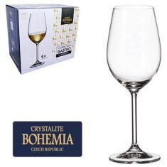 Imagem de Jogo De Taca De Cristal Para Vinho  Com 6 Unidades Gastro Bohemia 350ml