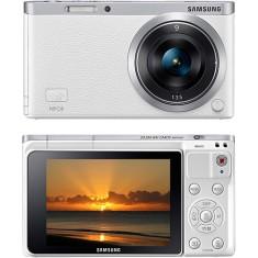 Câmera Digital Mirrorless Samsung Smart Series 20,5 MP Full HD NX Mini