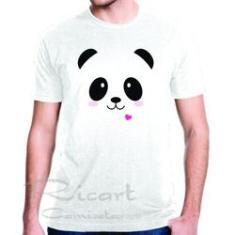 Imagem de Camiseta Animais Ursinho Panda Fofo