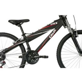 0e836a063 0  1  2. Bicicleta Mountain Bike Caloi 21 Marchas Aro 26 Suspensão Dianteira  Freio V-Brake TRS