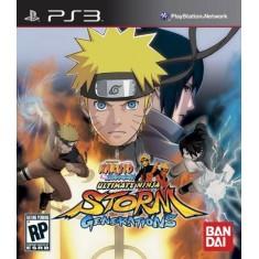 Jogo Naruto Shippuden Ultimate Ninja Storm Generations PlayStation 3 Bandai Namco