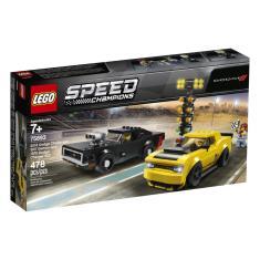 Imagem de Lego Dodge Challenger E Charger R/T Speed Champions 478 Pcs
