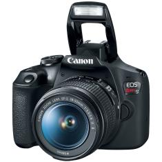 Câmera Digital Canon EOS Rebel T7 DSLR(Profissional) Full HD