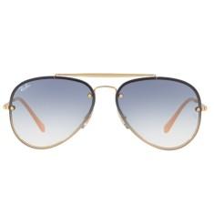 2d9a8ebab174b Óculos de Sol Unissex Ray Ban Aviador Blaze RB3584N