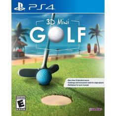 Jogo 3d Mini Golf PS4 PQube