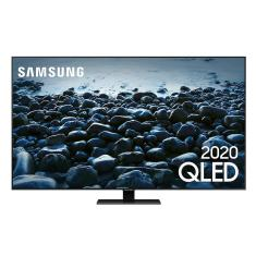 "Smart TV QLED 55"" Samsung 4K HDR QN55Q80TAGXZD 4 HDMI"