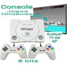 Imagem de Console de vídeo game classico retro jogos 2 controles - Gamestation