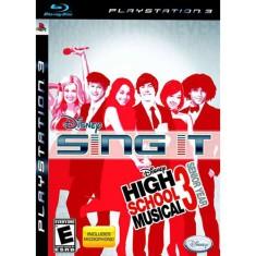 Jogo Sing It! High School Musical 3: Senior Year PlayStation 3 Disney