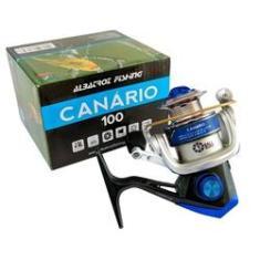 Imagem de Micro Molinete Albatroz Canário 3 Rolamentos Carretel Alumínio 150g Azul