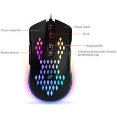 Imagem de Mouse Gamer M370 - 800 Dpi - Kmex