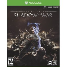 Jogo Terra Média Sombras da Guerra Xbox One Warner Bros