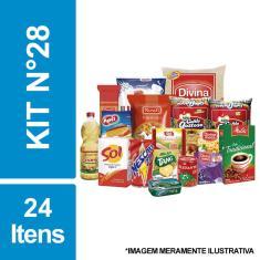 Imagem de Cesta Básica De Alimentos C/ 24 Itens