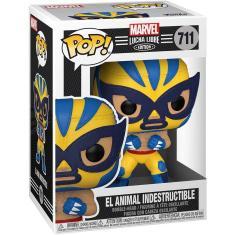 Imagem de Funko Pop! Marvel: Luchadores - Wolverine