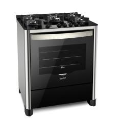 Fogão de Piso Fischer TC Gran Cheff 5 Bocas Acendimento Automático Grill