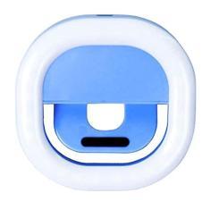 Imagem de Eastdall Selfie Ring Light USB recarregável portátil Clip-on Selfie Fill Light LED Lâmpada de 3 níveis Iluminação para Smart Phone Fotografia Câmera Video Girl Make up Lâmpada LED