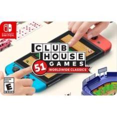 Imagem de Gift Card Digital Clubhouse Games: 51 Worldwide Classics para Nintendo Switch