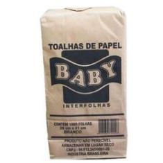 Imagem de Papel Toalha Baby 20 X 21cm  C/ 1000 Folhas