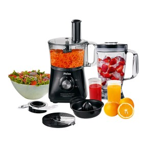 Processador de Alimentos com Liquidificador Philco All in One 2 475 W