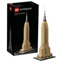 Imagem de Lego Architecture Empire State Building Usa 1767 peças 21046