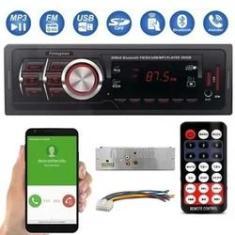 Imagem de radio para carros first option 8850B com Bluetooth atendimento celular usb sd mp3 player toca fm p2 som automotivo Uni