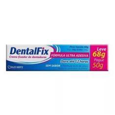 Imagem de Dentalfix Creme Adesivo Sem Sabor L 68G P 50G Kley Hertz