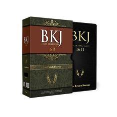 Bíblia King James com Estudo Holman Preta - Caixa - King James - 9788581581811
