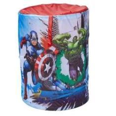 Imagem de Cesto Porta Objetos Portátil Avengers Zippy Toys