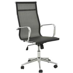 Cadeira de Escritório Office Sevilha Alta Tela Rivatti