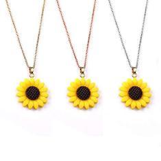 Imagem de Colar de Girassol - Pingente Sunflower ()
