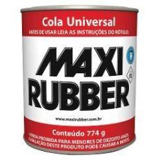 Imagem de Cola Sapateiro Carplast/Maxirubb Lata Grande 774g