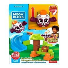 Imagem de Blocos De Montar Mega Blocks Descida Do Panda - Fisher Price