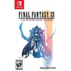 Jogo Final Fantasy XII The Zodiac Age Remastered Square Enix Nintendo Switch