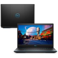 "Notebook Gamer Dell G3 G3-3500-M30P Intel Core i7 10750H 15,6"" 16GB SSD 512 GB GeForce GTX 1650 Ti"
