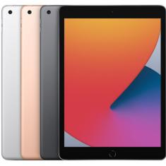 "Tablet Apple iPad 8ª Geração 32GB 4G 10,2"" 8 MP iPadOS"
