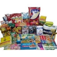 Imagem de Cesta Básica Completa Alimentos E Higiene - 30 Itens