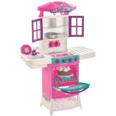 Imagem de Cozinha Meg Doll Infantil Pia E Fogão Magic Toys 8012