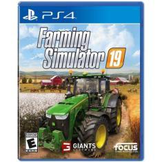 Jogo Farming Simulator 19 PS4 Focus