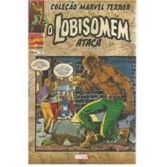 Imagem de HQ Marvel Coleção Marvel Terror: O Lobisomem Ataca #01 - Panini
