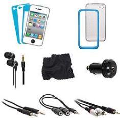 Imagem de Acessórios para iPhone 4 - Kit 12 Peças -  Dreamgear