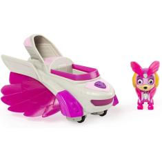Imagem de Paw Patrol, Mighty Pups Charged Up Skye's Deluxe Vehicle With Lights And Sounds, Multicolor