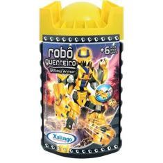 Imagem de Blocos De Encaixe Robô Guerreiro - Xalingo Yellow Armor