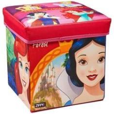 Imagem de Porta Objeto Banquinho Princesas - Zippy Toys