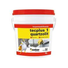 Imagem de Impermeabilizante Tecplus 18 litros Quartzolit - Weber quartzolit