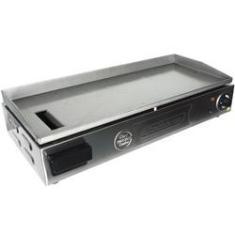Imagem de Chapa Lanches Elétrica Grill 70X30 2000W Cozinha Cotherm Profissional Industrial Inox
