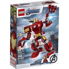 Imagem de Lego Marvel Super Heroes Robo Iron Man Com 148 Peças 76140