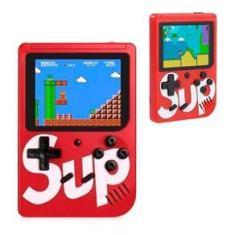 Imagem de Mini Game Retrô Console Sup Portatil 400 Jogos