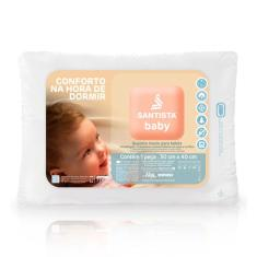 Imagem de Travesseiro Antialérgico Pró-Saúde Baby Santista - Único -