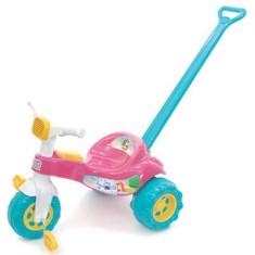 Imagem de Triciclo com Pedal Magic Toys Tico-Tico Princesa